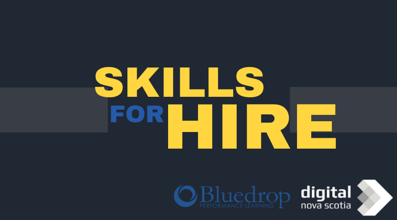 Digital Nova Scotia in Partnership with Bluedrop Receives $2.5 Million To Launch Skills for Hire Program