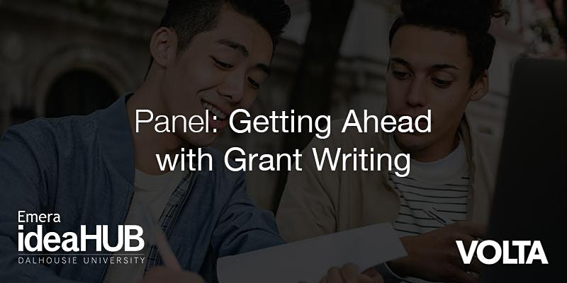 Getting Ahead with Grant Writing