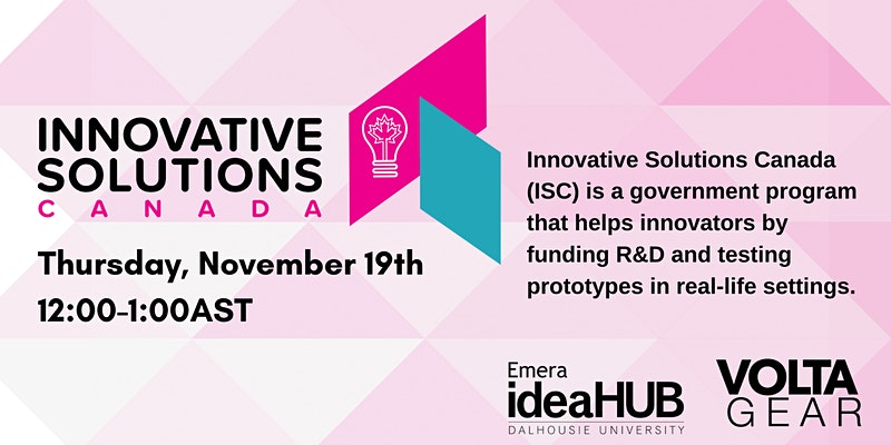 Innovative Solutions Canada Lunch & Learn
