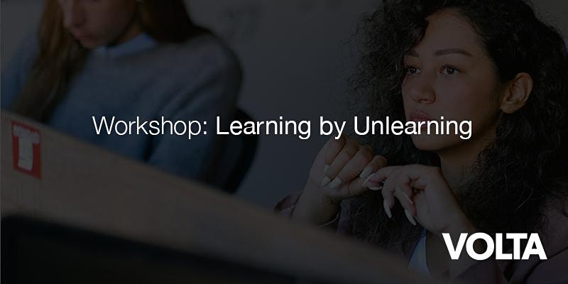 Learning by Unlearning