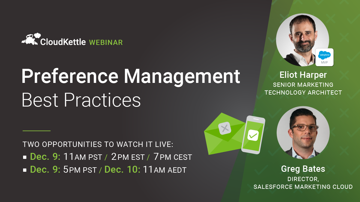 Preference Management Best Practices