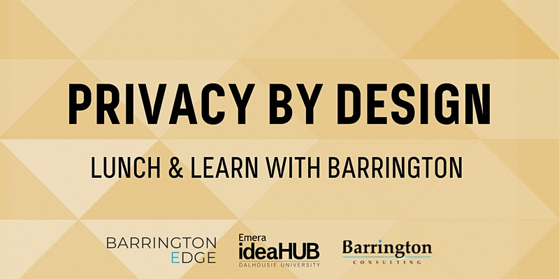 Privacy by Design with Barrington