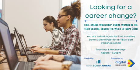 Rural Women in the Tech Sector: A Free Workshop Series