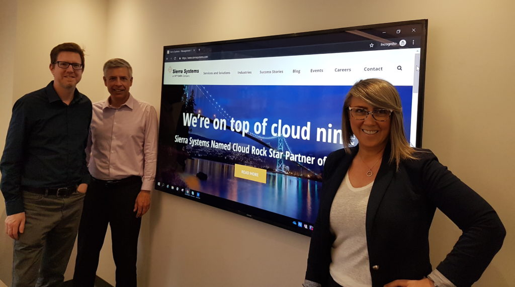 Getting to know Dawn & David at Sierra Systems, an NTT DATA Company