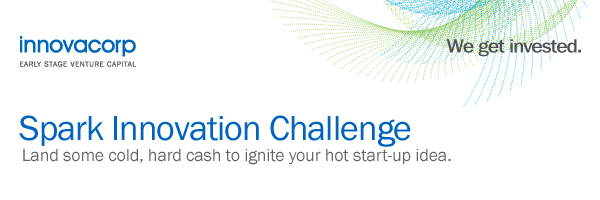 Innovacorp's Spark Innovation Challenge Open for Submissions
