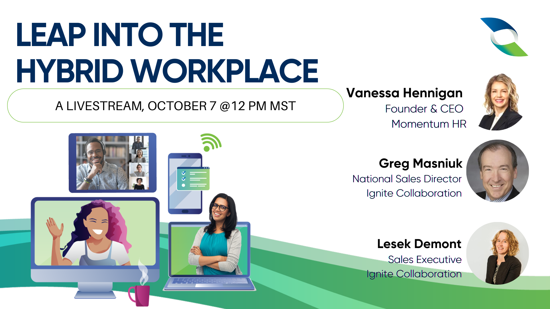 Leap into the Hybrid Workplace
