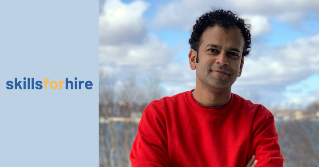 Meet our Skills for Hire Student of the Month – Sarvesh!